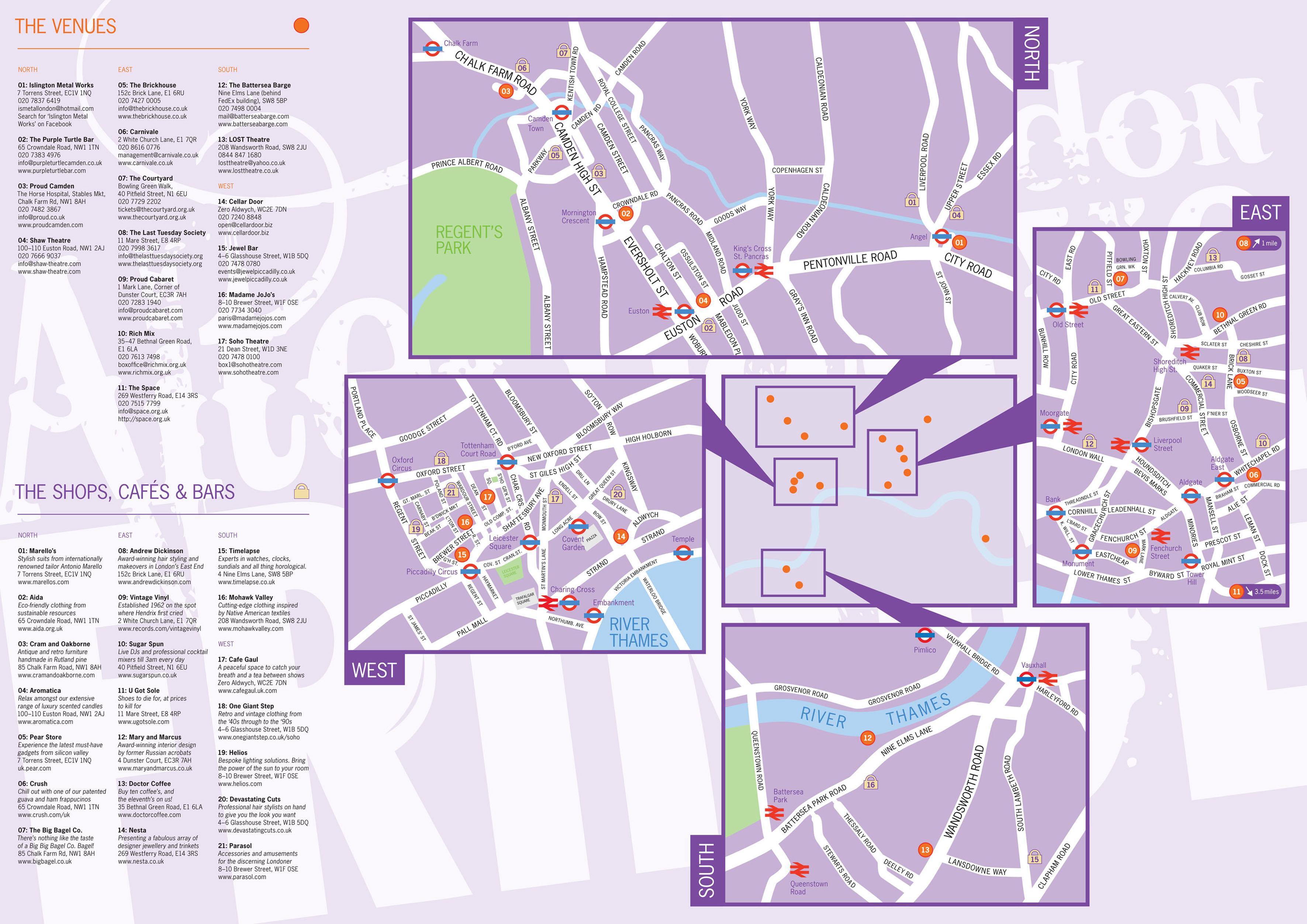 LAFF Map
